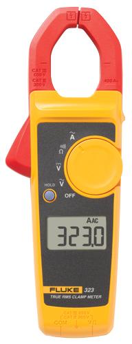 Fluke 323 Clamp Meter Fluke : Fluke true rms clamp meter