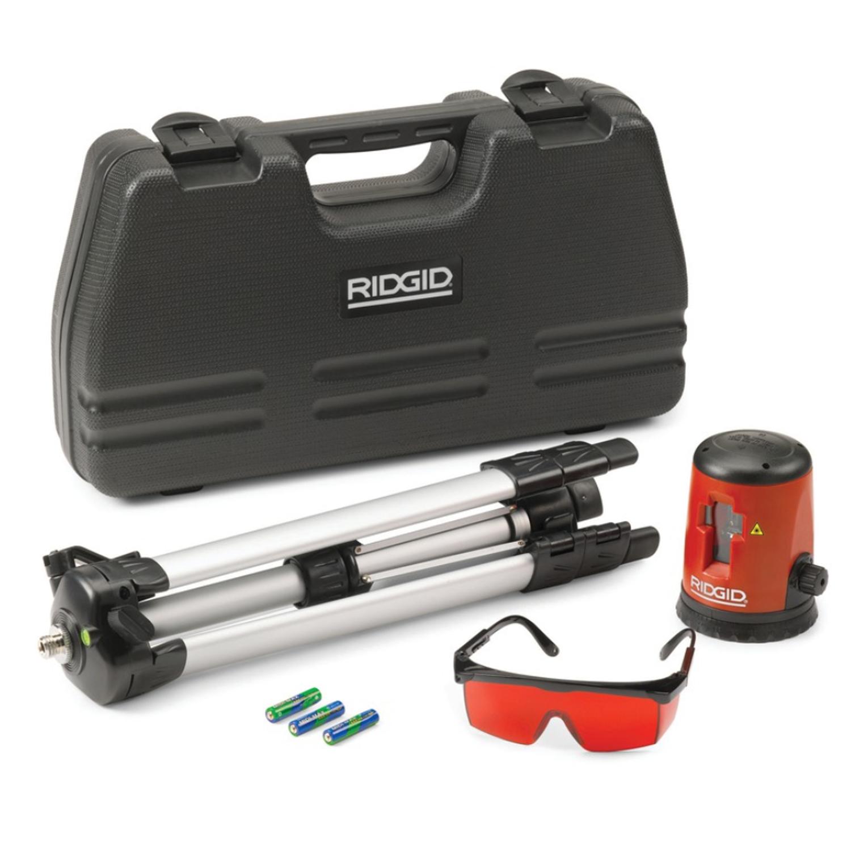 Laser croix mise niveau automatique ridgid micro cl 100 for Meilleur niveau laser automatique